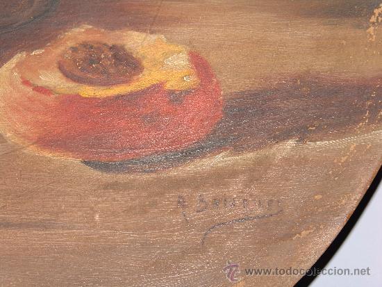 Antigüedades: PRECIOSO PLATO DE BARRO PINTADO - Foto 5 - 39274709