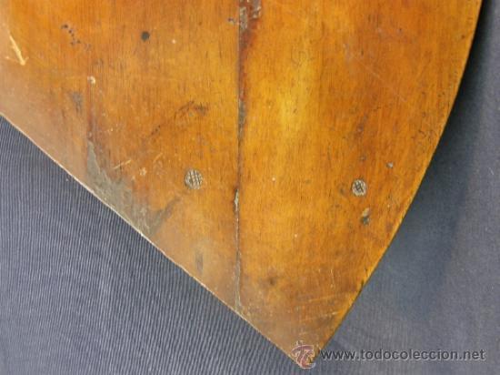 Antigüedades: REPISA ESTANTERÍA ESQUINERA MADERA NOGAL TEÑIDA NEGRO CHAPADO FINALES XVIII PPIOS XIX - Foto 3 - 39275183