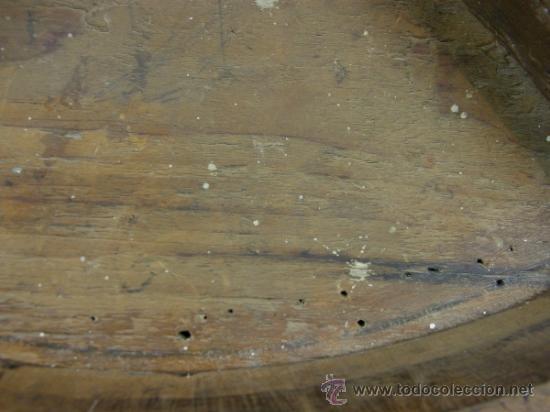Antigüedades: REPISA ESTANTERÍA ESQUINERA MADERA NOGAL TEÑIDA NEGRO CHAPADO FINALES XVIII PPIOS XIX - Foto 5 - 39275183