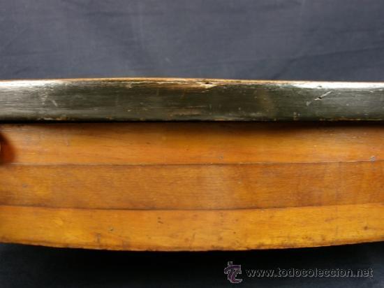 Antigüedades: REPISA ESTANTERÍA ESQUINERA MADERA NOGAL TEÑIDA NEGRO CHAPADO FINALES XVIII PPIOS XIX - Foto 11 - 39275183