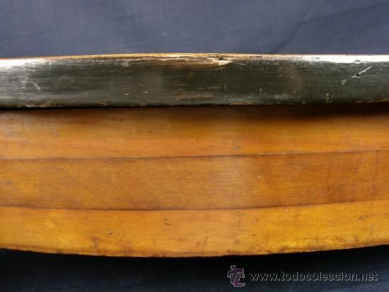 Antigüedades: REPISA ESTANTERÍA ESQUINERA MADERA NOGAL TEÑIDA NEGRO CHAPADO FINALES XVIII PPIOS XIX - Foto 8 - 39275183