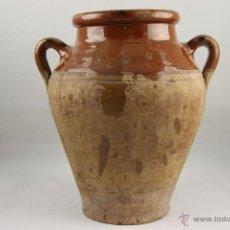 Antigüedades: TARRO EN BARRO COCIDO Y VIDRIADA. S XVIII-XIX. . Lote 39305281