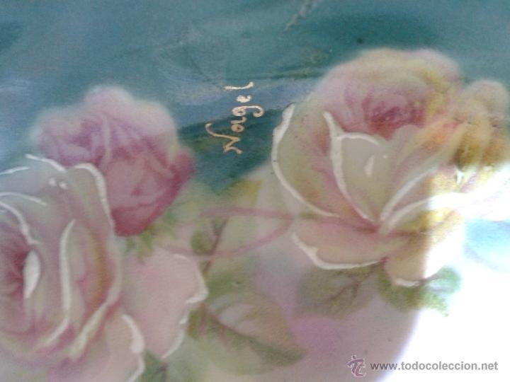Antigüedades: cesta muy bonita firmada nolgel silesia. 17 x 11 x 7 cm. - Foto 2 - 39308143