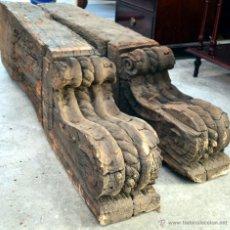 Antigüedades: GRANDIOSA PAREJA DE MENSULAS. S. XVII.. Lote 39315579