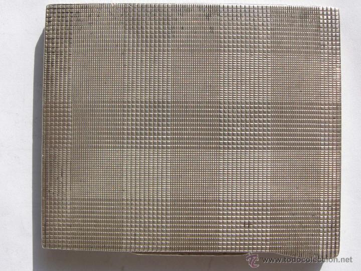 Antigüedades: EXTRAORDINARIA PITILLERA EN PLATA 900.ART DECO. REPUBLICA CHECA. 1930 - Foto 2 - 39307407
