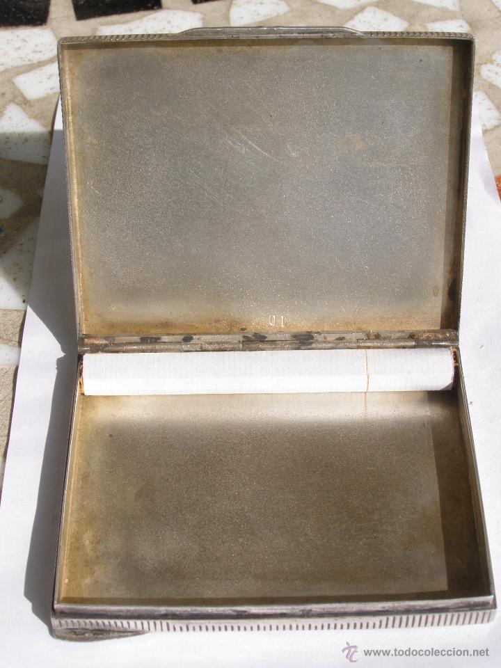 Antigüedades: EXTRAORDINARIA PITILLERA EN PLATA 900.ART DECO. REPUBLICA CHECA. 1930 - Foto 4 - 39307407
