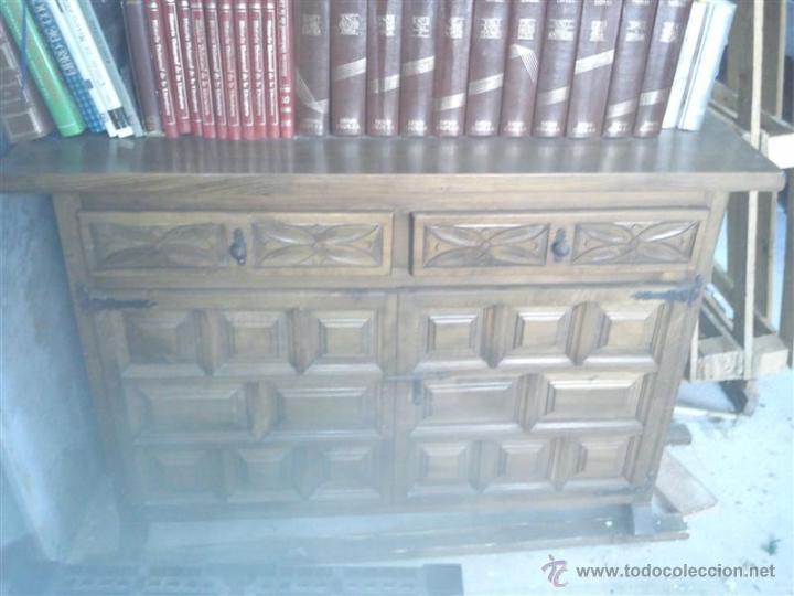 Antigüedades: taquillon castellano - Foto 2 - 39355404