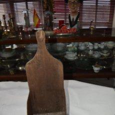 Antigüedades: ANTIGUO RECOGEDOR DE BASURA TRADICIONAL DE GALICIA. Lote 39404762