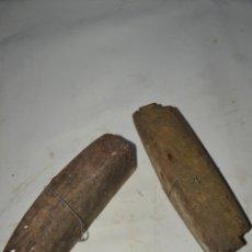 Antigüedades: SOPORTES PARA GUARDAR HOJAS DE CUCHILLOS. Lote 39406917