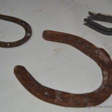 Antigüedades: HERRADURAS DE GANADO. Lote 39422991