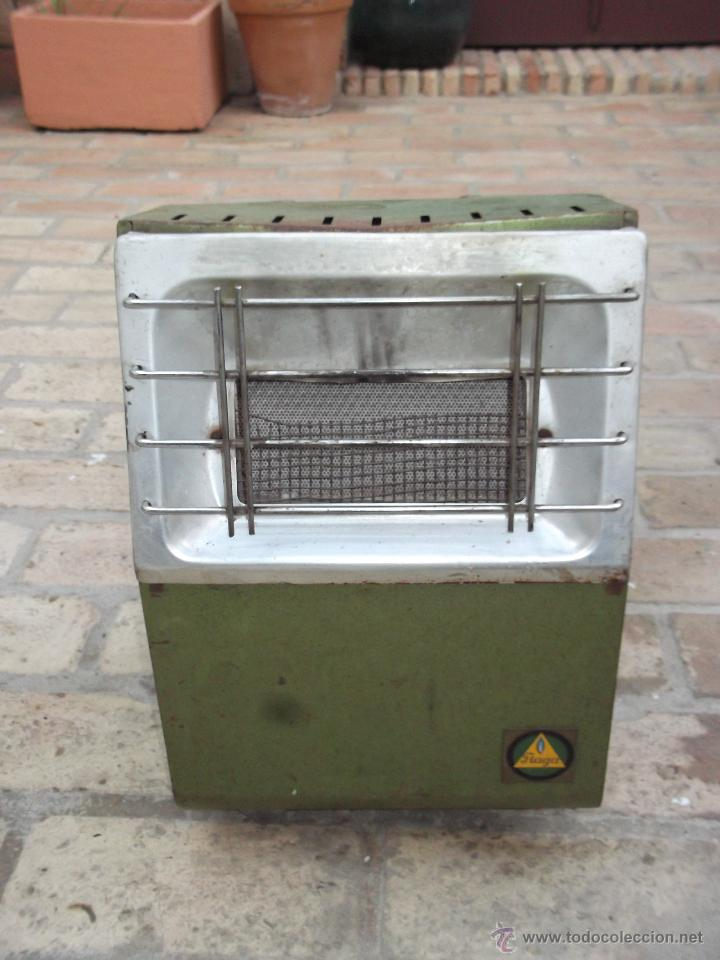 Antigua estufa de butano peque a marca flaga comprar - Estufa butano precio ...