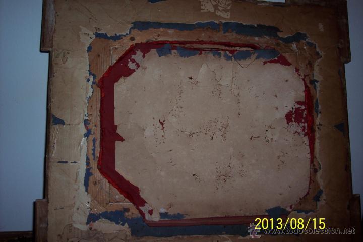 Antigüedades: EXTRAORDINARIO MARCO CON CRISTAL OVALADO FINALES DEL XVIII - Foto 6 - 39451856