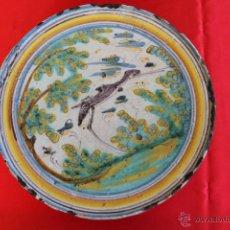 Antigüedades: TALAVERA / PUENTE DEL ARZOBISPO. ANTIGÜA SALVILLA EN CERAMICA SXVIII. Lote 39458939