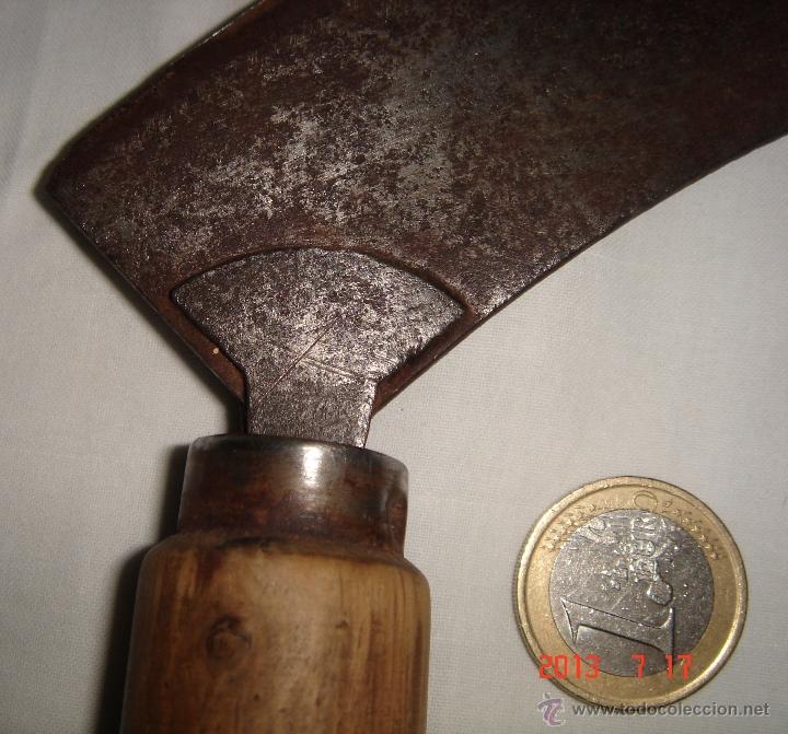 Antigüedades: picador o herramienta de dos mangos - Foto 2 - 39466032