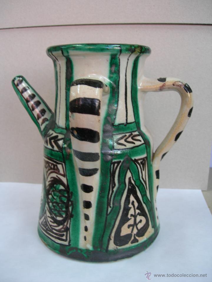 Antigüedades: TERUEL CERAMICA PUNTER - Foto 2 - 39473466