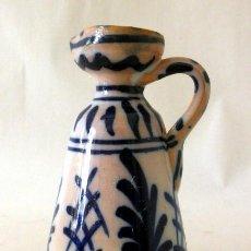 Antigüedades: JARRITA DE CERAMICA EN AZULES. Lote 39490375