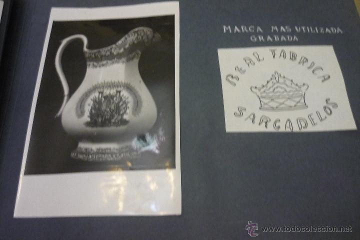 Antigüedades: Álbum catálogo de loza de Sargadelos - Foto 21 - 39467018