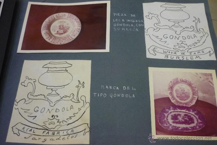 Antigüedades: Álbum catálogo de loza de Sargadelos - Foto 25 - 39467018