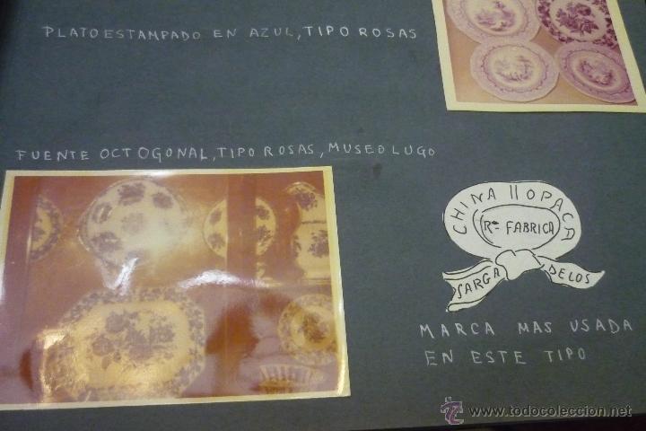Antigüedades: Álbum catálogo de loza de Sargadelos - Foto 37 - 39467018