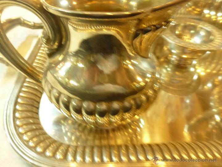 Antigüedades: juego de cafe de plata - Foto 23 - 39476281