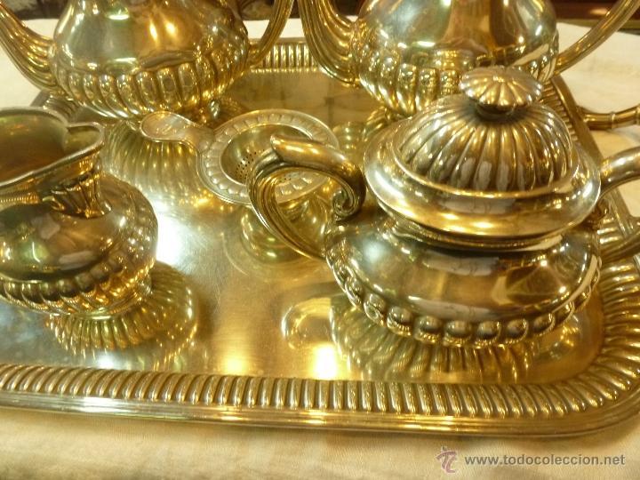 Antigüedades: juego de cafe de plata - Foto 22 - 39476281