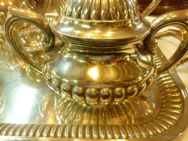 Antigüedades: juego de cafe de plata - Foto 21 - 39476281