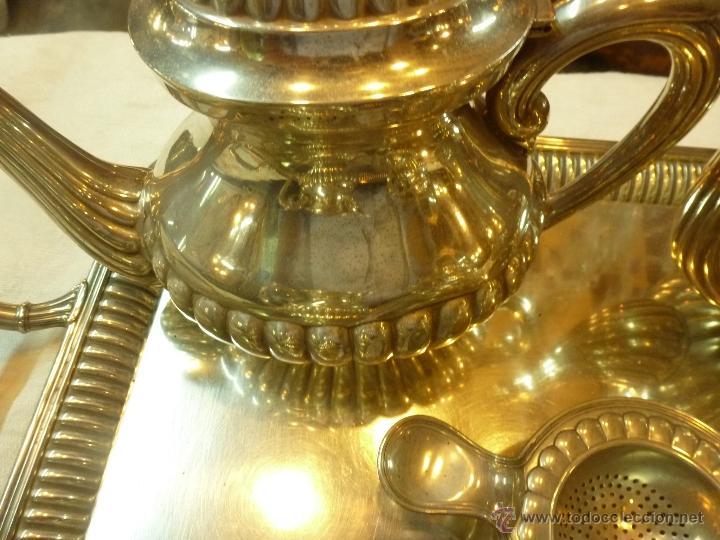Antigüedades: juego de cafe de plata - Foto 19 - 39476281