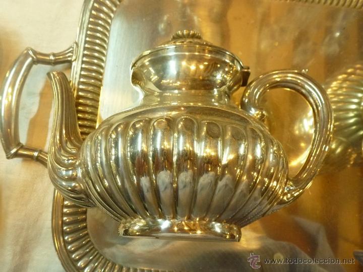 Antigüedades: juego de cafe de plata - Foto 9 - 39476281