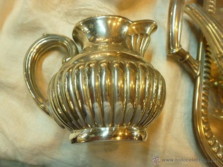 Antigüedades: juego de cafe de plata - Foto 5 - 39476281