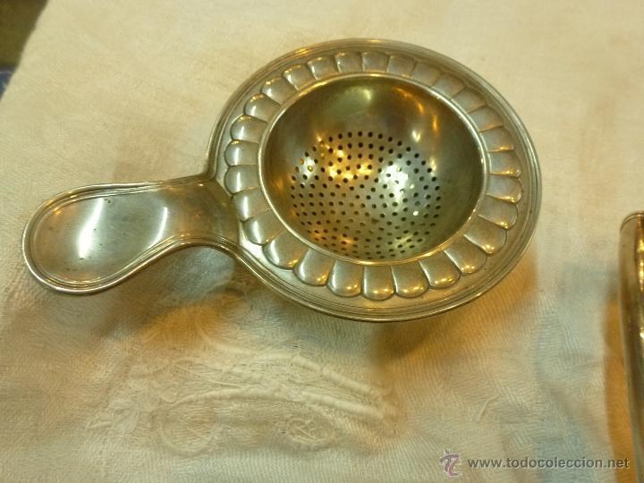 Antigüedades: juego de cafe de plata - Foto 4 - 39476281