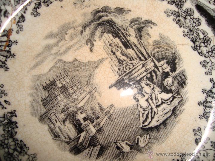 Antigüedades: PLATO PICKMAN Y CIA. 18.5cm. - Foto 2 - 39495417