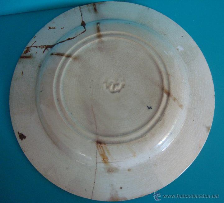 Antigüedades: PLATO PICKMAN Y CIA. 18.5cm. - Foto 3 - 39495417