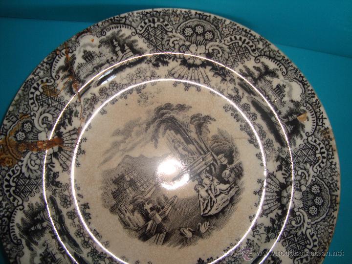 Antigüedades: PLATO PICKMAN Y CIA. 18.5cm. - Foto 6 - 39495417