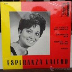 Discos de vinilo: ESPERANZA VALERO - TU CARITA MACARENA +3 1968 EP ARLEQUIN 1076 LOS 5 MAGNÍFICOS. Lote 39534110