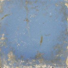 Antigüedades: 83- AZULEJO EN CERAMICA POLICROMADA EN AZUL. S. XVIII. . Lote 39515716