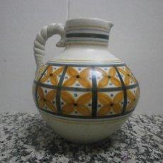Antigüedades: JARRON DE TALAVERA FIRMADO CHACON MADE IN SPAIN. 5 / 64. Lote 39526858
