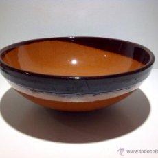 Antigüedades: ANTIGUO CUENCO DE CERÁMICA VIDRIADO. Lote 39533879