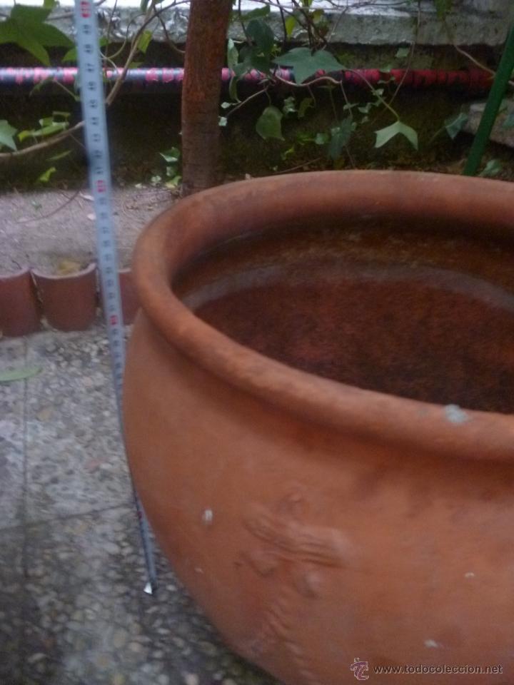 Antigüedades: MACETERO DE TERRACOTA - Foto 4 - 39555463