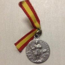 Antigüedades: ANTIGUA MEDALLA DE SAN ISIDRO LABRADOR. Lote 39560662