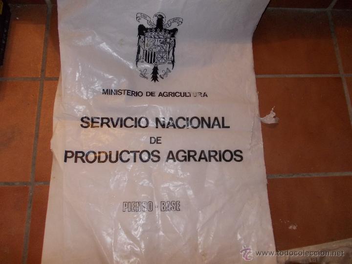 SACO DE ABONO ANTIGUO (Antigüedades - Técnicas - Rústicas - Agricultura)