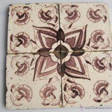 Antigüedades: AZULEJOS DELFT JUEGO. Lote 39569955