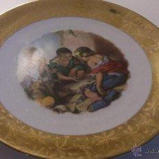 Antigüedades: ORIGINAL Y ANTIQUÍSIMO PLATO. Lote 39604233