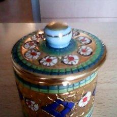 Antigüedades: PRECIOSA BOMBONERA HECHA Y PINTADA A MANO SELLADO,A.R.I.S,ORO ZEC CHINO.. Lote 39621874