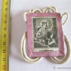 Antigüedades: ESCAPULARIO.. Lote 39724732
