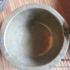 Antigüedades: ANTIGUO CAZO DE LATON O COBRE SIN ASA.. Lote 39629833