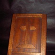 Antigüedades: DIPTICO LAMINAS RELIGIOSAS. Lote 186022205