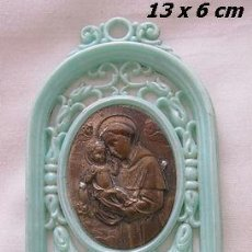 Antigüedades: BENDITERA DE SAN JOSE ANTIGUA UNIPLAST. Lote 39651971