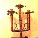 Antigüedades: CANDELABRO DE IGLESIA ALTAR. Lote 39652755