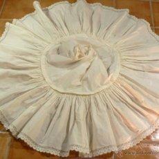 Antigüedades: ANTIGUA ENAGUA AHUECADOR. Lote 78026597
