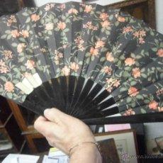 Antigüedades: ABANICO ANTIGUO JAPONES ORIENTAL GRANDE DE COLECCION DE MUSEO. Lote 39656582